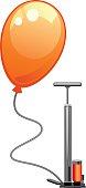 Balloon and pump