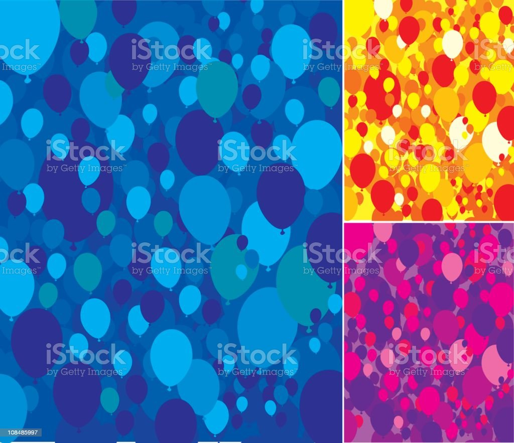 Balloon Background royalty-free stock vector art