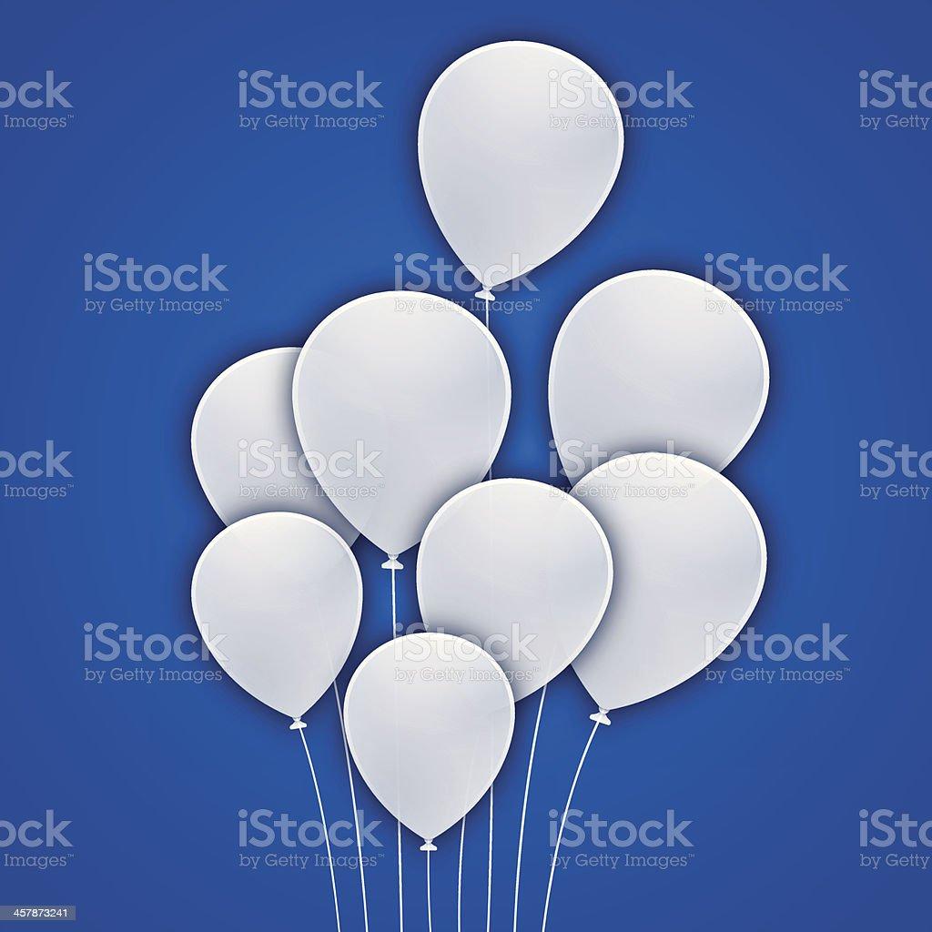 Balloon Celebration Background vector art illustration