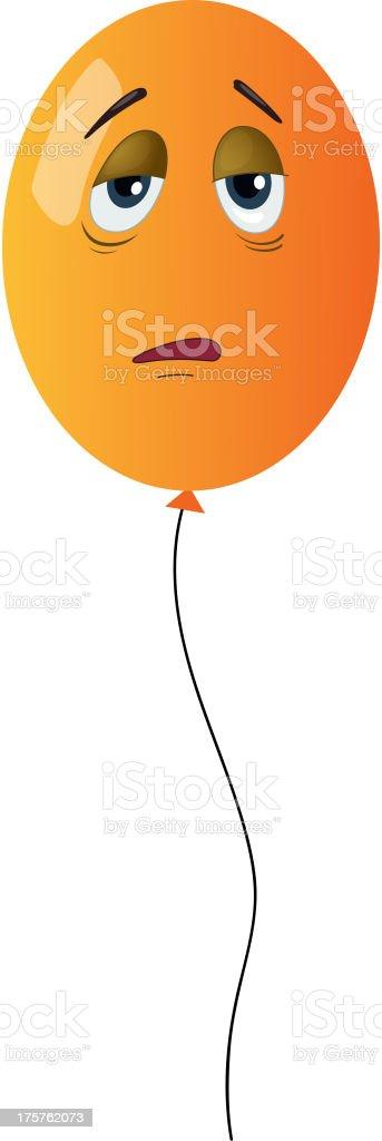 balloon face royalty-free stock vector art