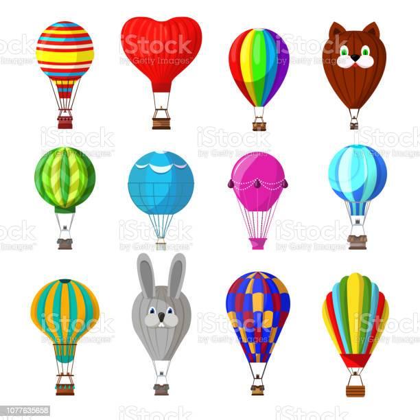 Balloon vector cartoon airballoon or aerostat with basket flyin vector id1077635658?b=1&k=6&m=1077635658&s=612x612&h=iarjndf e0hjtcovz6d12msoa wqgrsmtprnbs8lxb4=