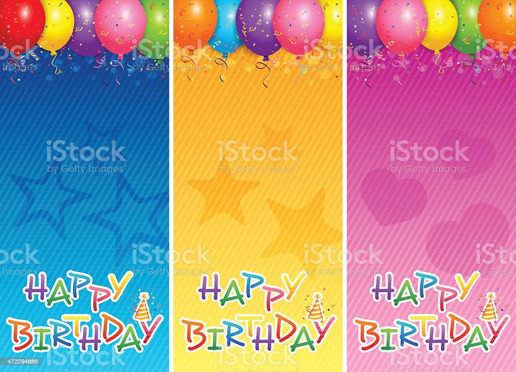 Balloons banners royalty-free balloons banners stock vector art & more images of abstract