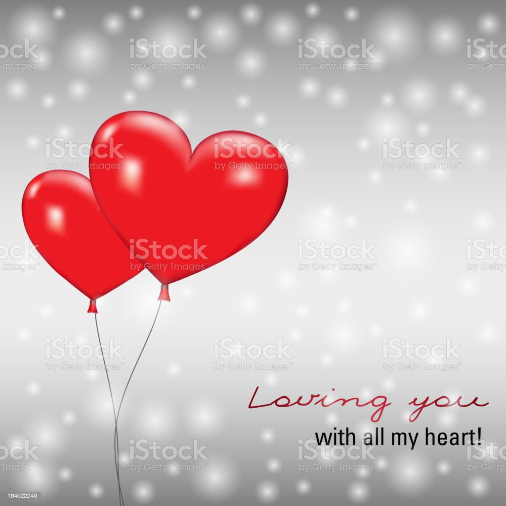 Balloons in the shape of heart royalty-free balloons in the shape of heart stock vector art & more images of balloon