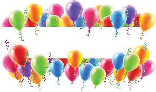 Balloon stock illustrations