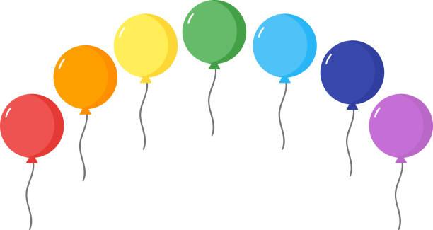 Balloons vector illustration vector art illustration