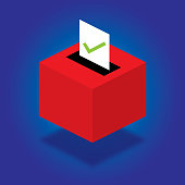 Ballot Box Isometric
