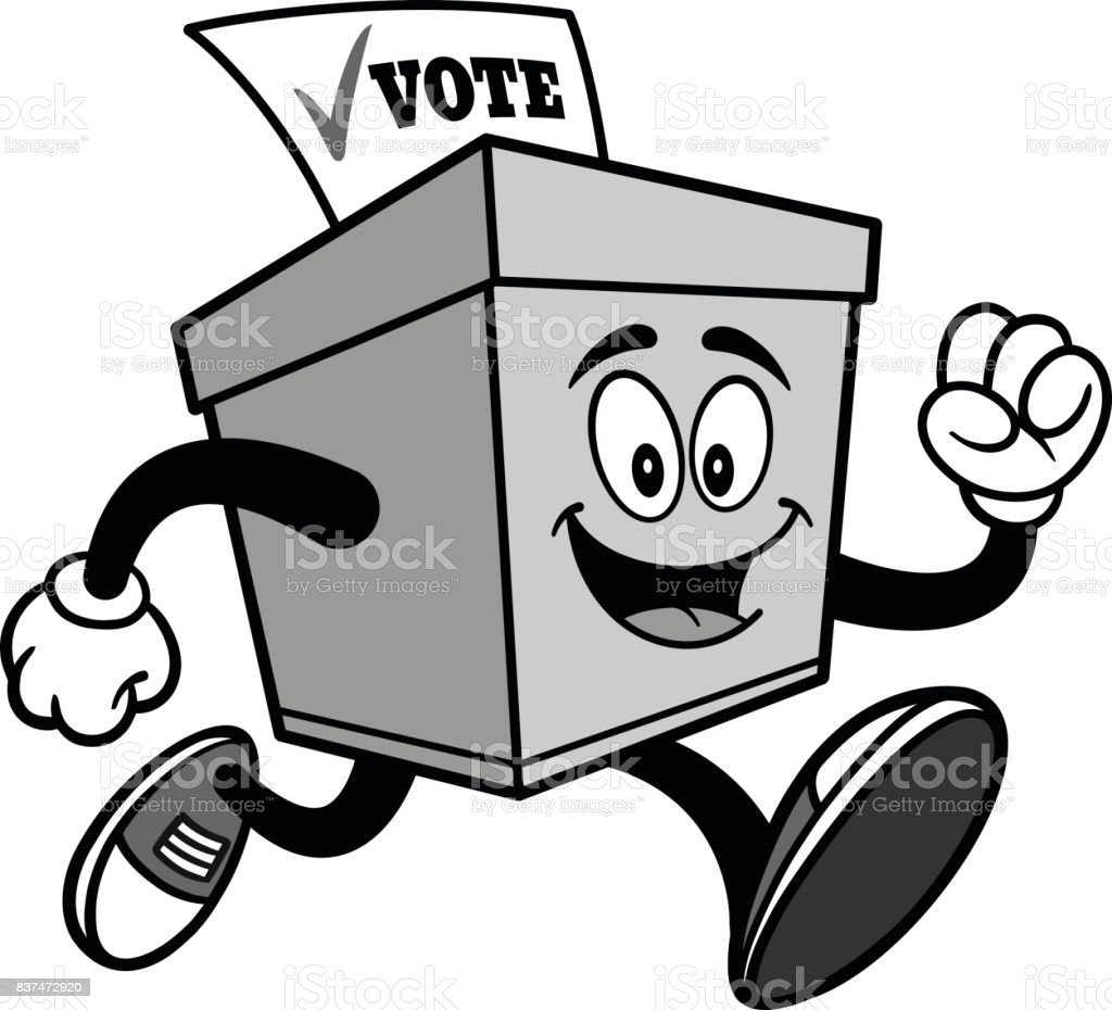 Image result for voting cartoon drawing