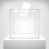 Ballot vector box.