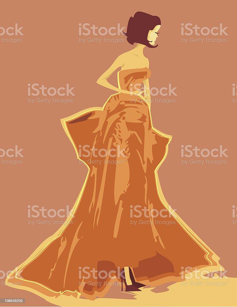 Ballroom Chic royalty-free stock vector art