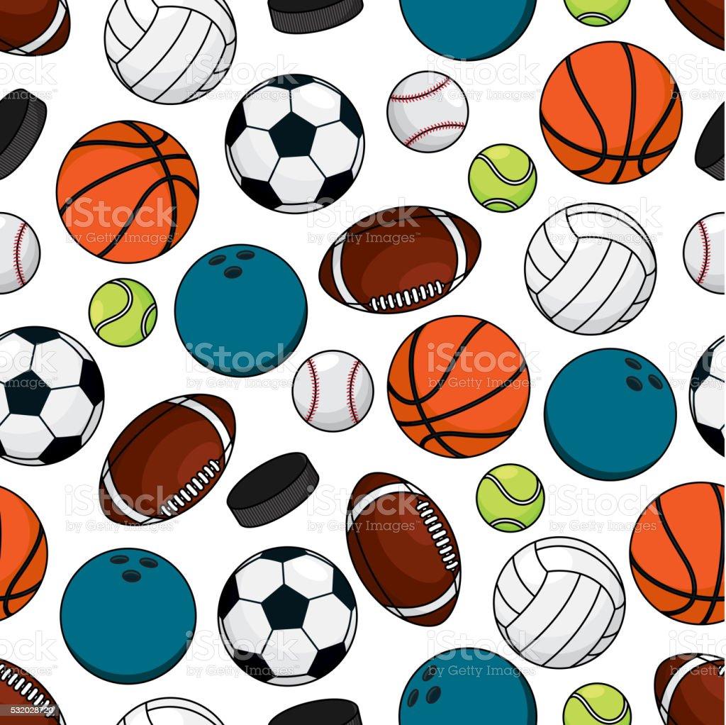 Les Palets De Balles Et De Jeux Pour Léquipe Motif Uniforme Stock - L'équipe carrelage