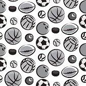balls seamless pattern