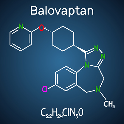 Balovaptan Molecule Is Drug For The Treatment Of Autism Structural