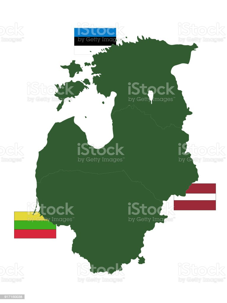 Baltic counties map with flags stock vector art more images of baltic counties map with flags royalty free baltic counties map with flags stock vector art gumiabroncs Image collections