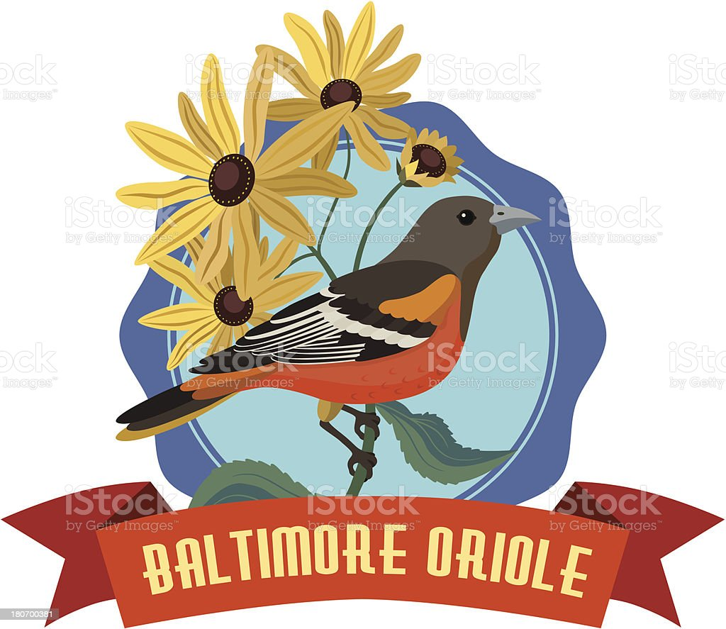 Baltimore oriole royalty-free baltimore oriole stock vector art & more images of bird