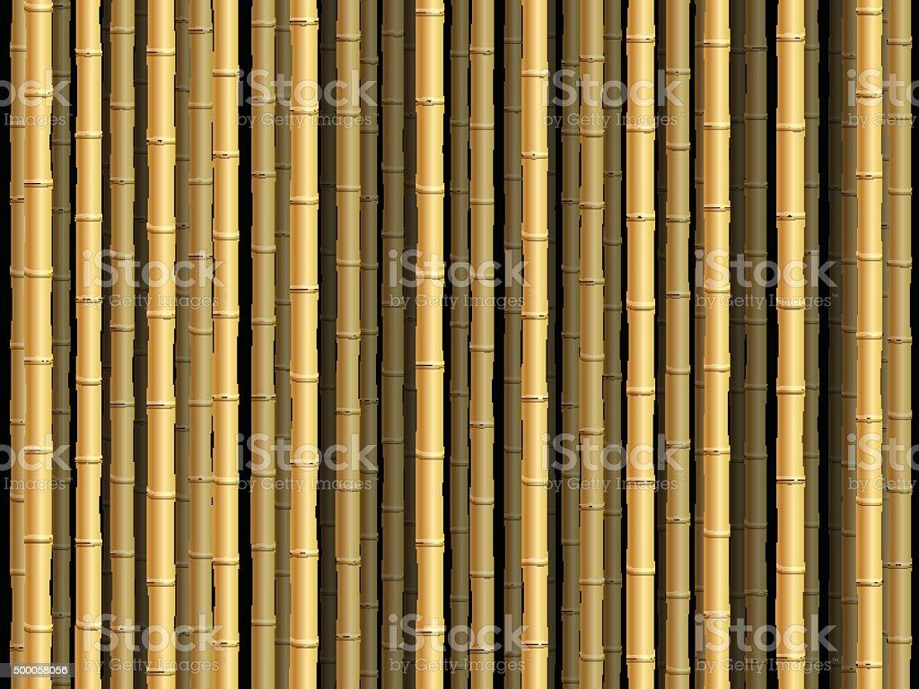 Bambus-Hintergrund – Vektorgrafik