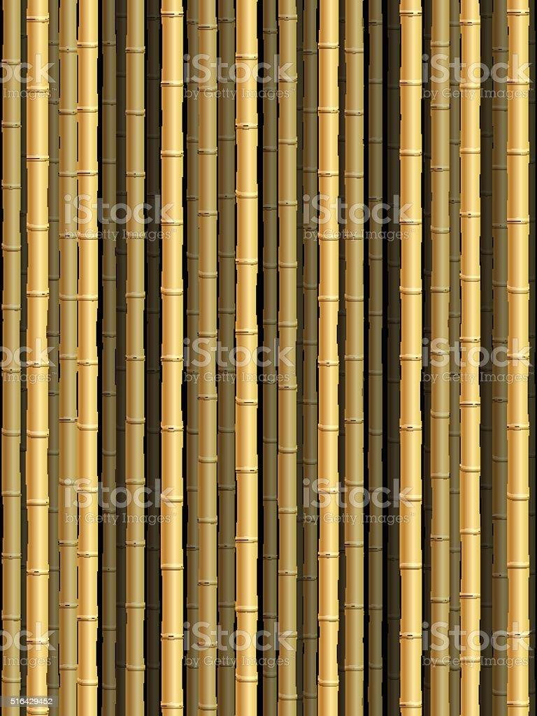Bamboo background向量藝術插圖
