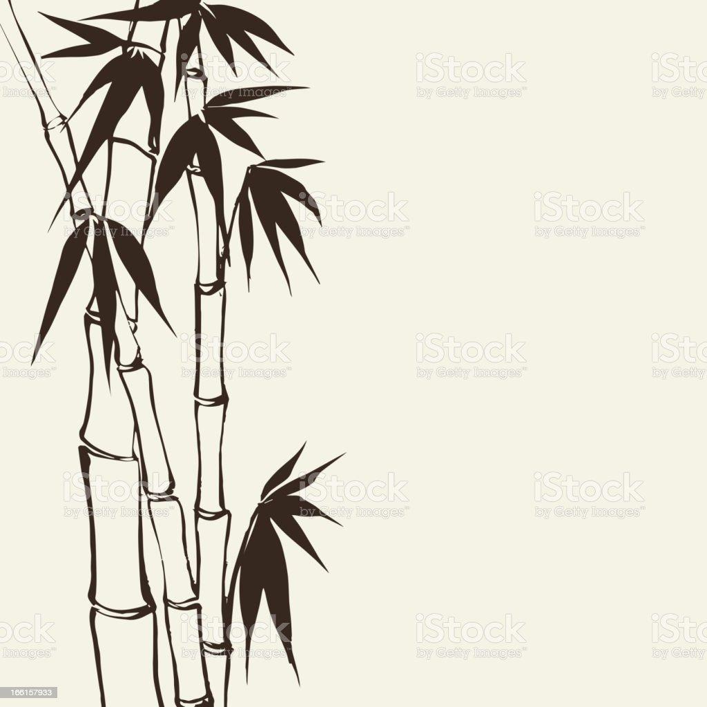 Bamboo banner set royalty-free stock vector art
