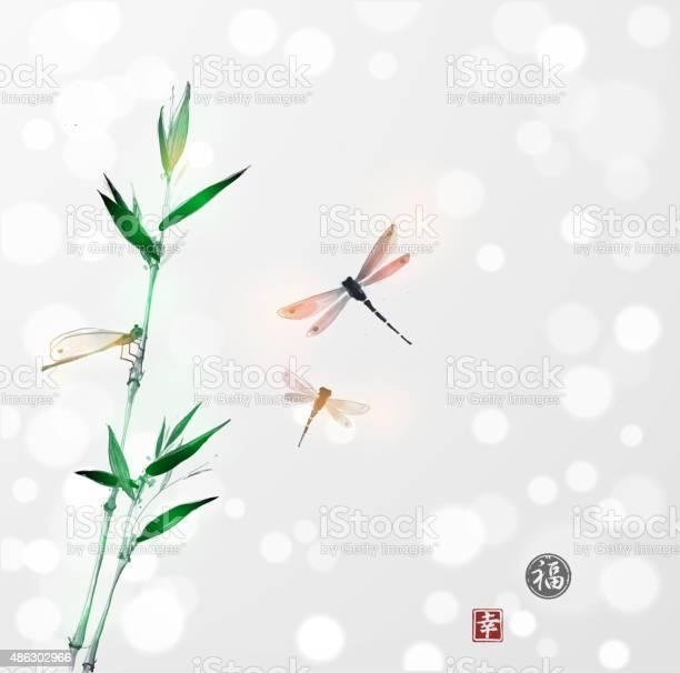 Bamboo branch and three dragonflies vector id486302966?b=1&k=6&m=486302966&s=612x612&h=h7jnfndbja8ommdvnpxpswhqk hpgpbaupirwnpghjs=