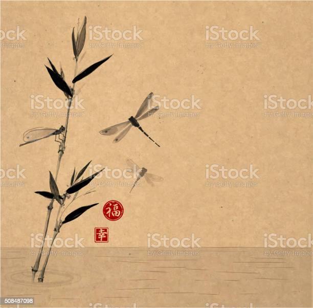 Bamboo branch and three dragonflies vector id508487098?b=1&k=6&m=508487098&s=612x612&h=wvuafxnifmfxs3bfe7uxprhrqlplho7ro8w7sftt5lu=