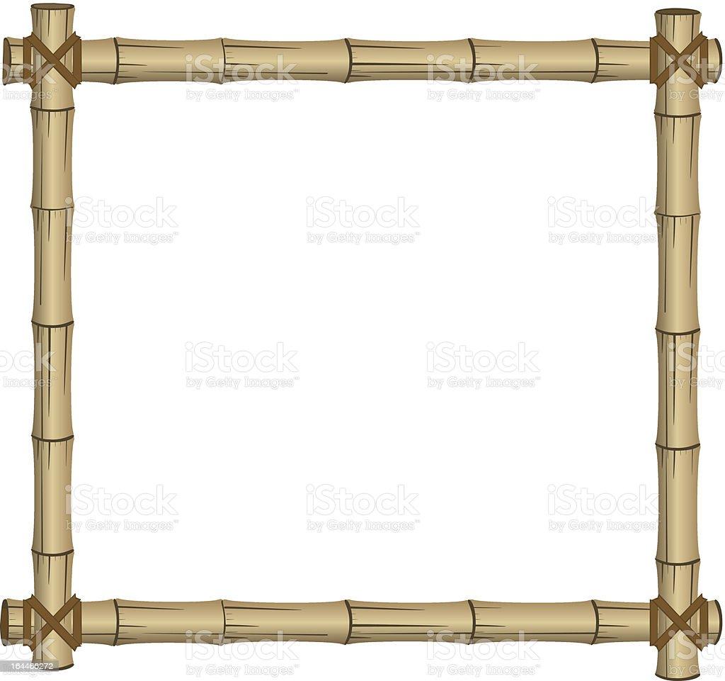 Bambusrahmen Stock Vektor Art und mehr Bilder von Abstrakt 164466272 ...