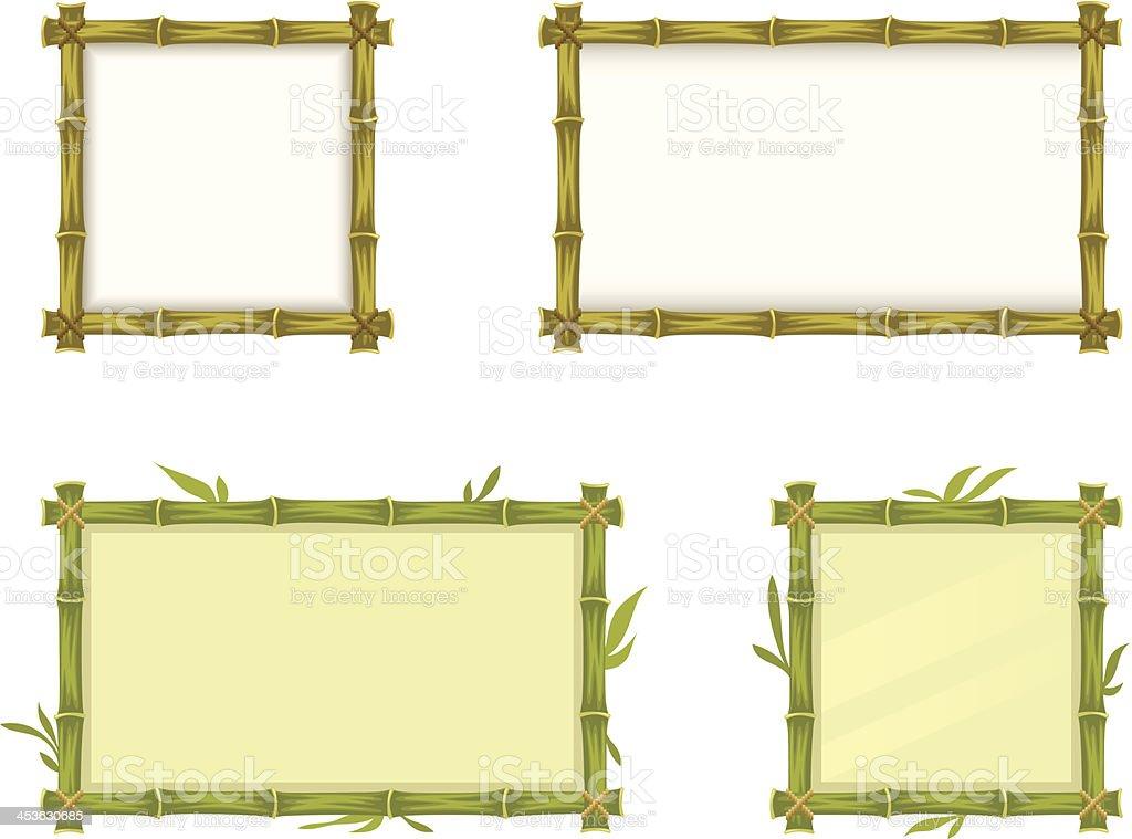 Bambusrahmen Vektor Illustration 453630685 | iStock