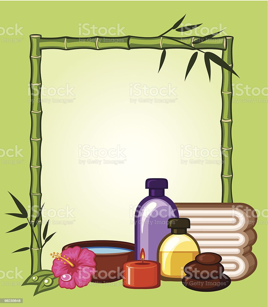 Telaio di bambù telaio di bambù - immagini vettoriali stock e altre immagini di accudire royalty-free