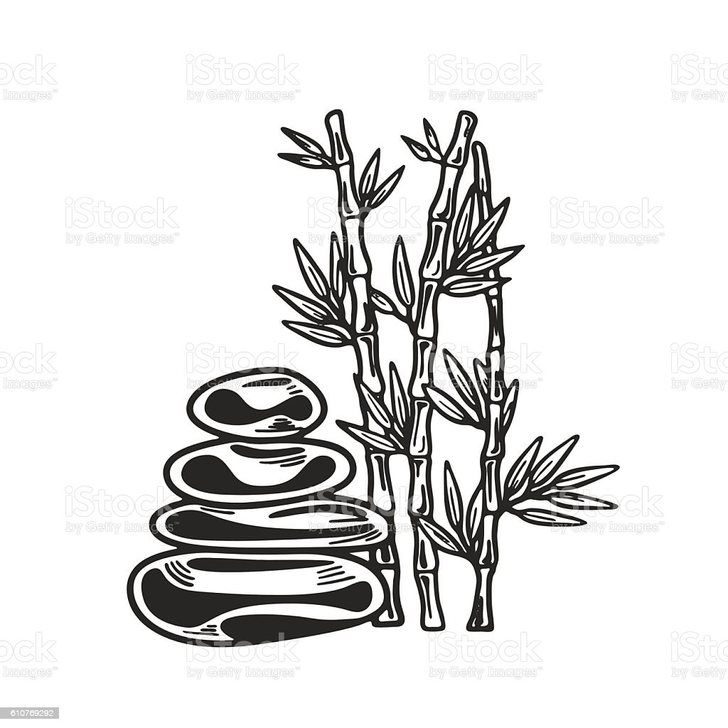 Bamboo Icon Vector Art Spa And Beauty Stock Illustration Download Image Now Istock