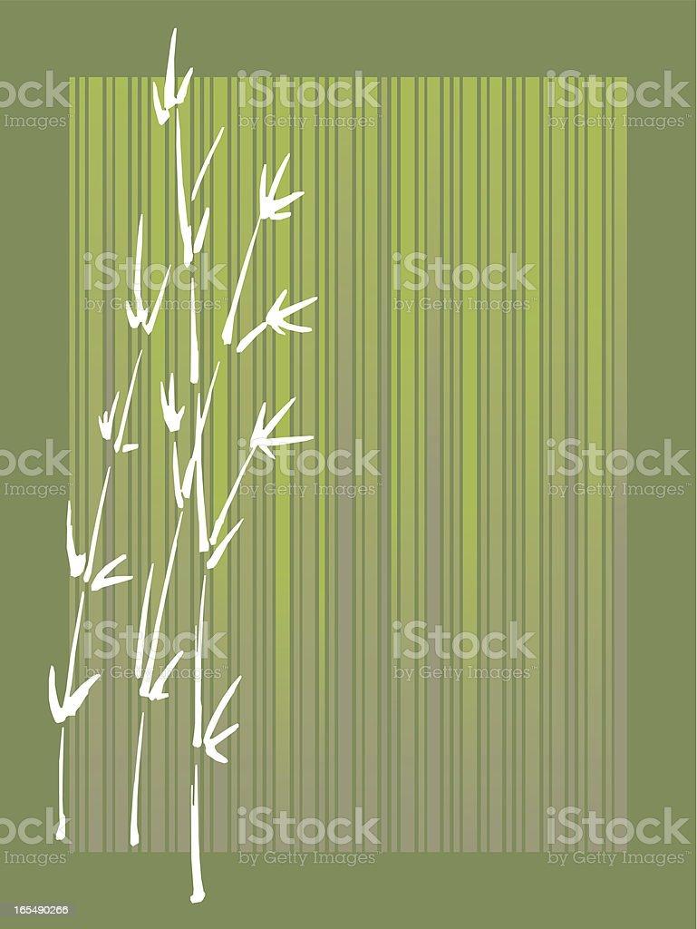 bamboo l royalty-free stock vector art