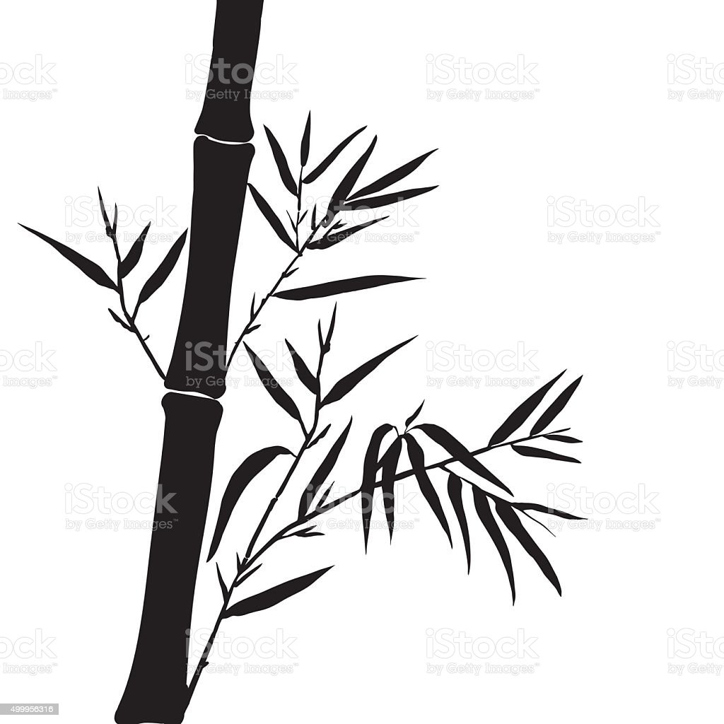 royalty free bamboo tree clip art vector images