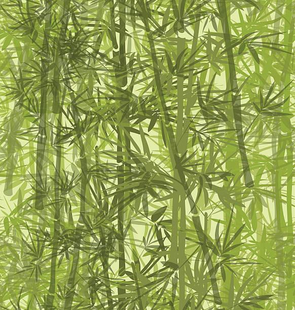 Bamboo Pattern vector art illustration