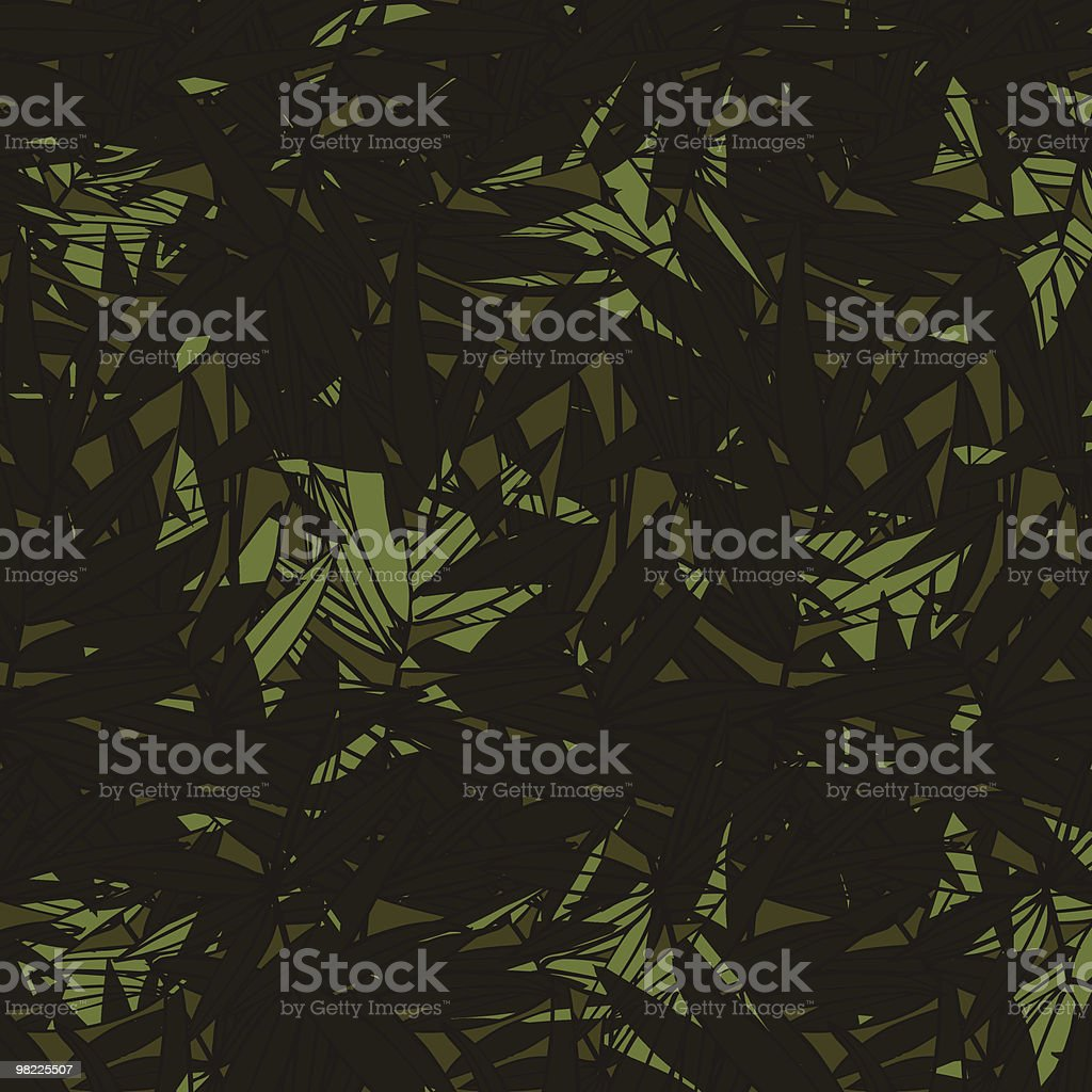 Bamboo Shadows Seamless Pattern royalty-free bamboo shadows seamless pattern stock vector art & more images of backgrounds