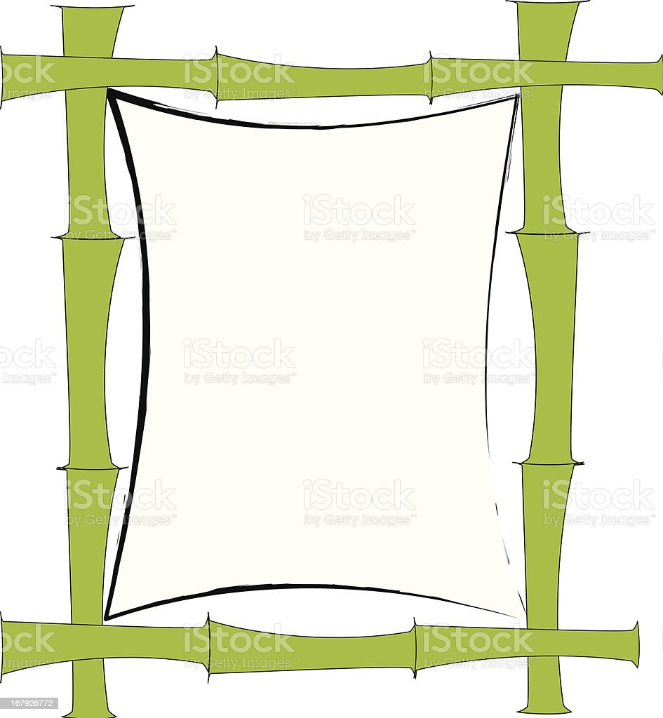 Bamboo Sign royalty-free stock vector art