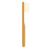 istock Bamboo Toothbrush Icon on Transparent Background 1284314437