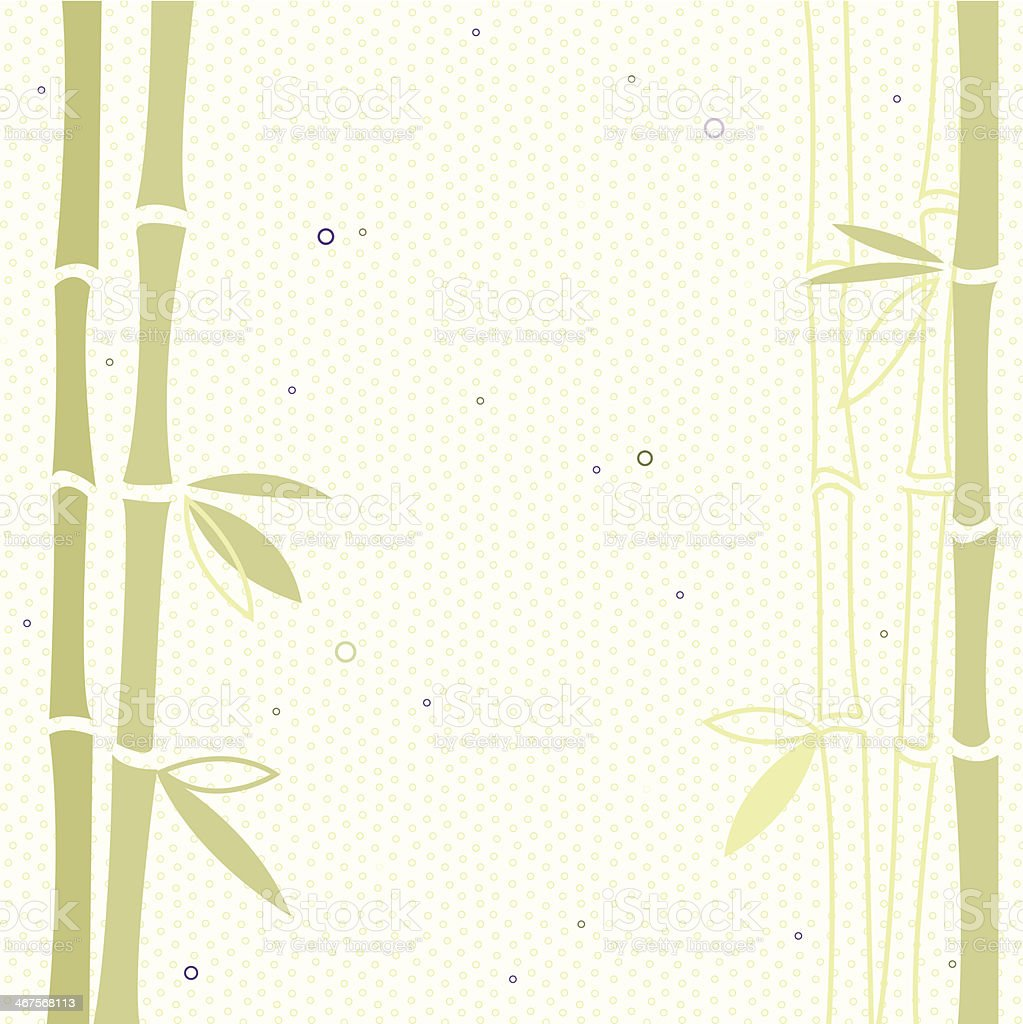 Bamboo vector background vector art illustration