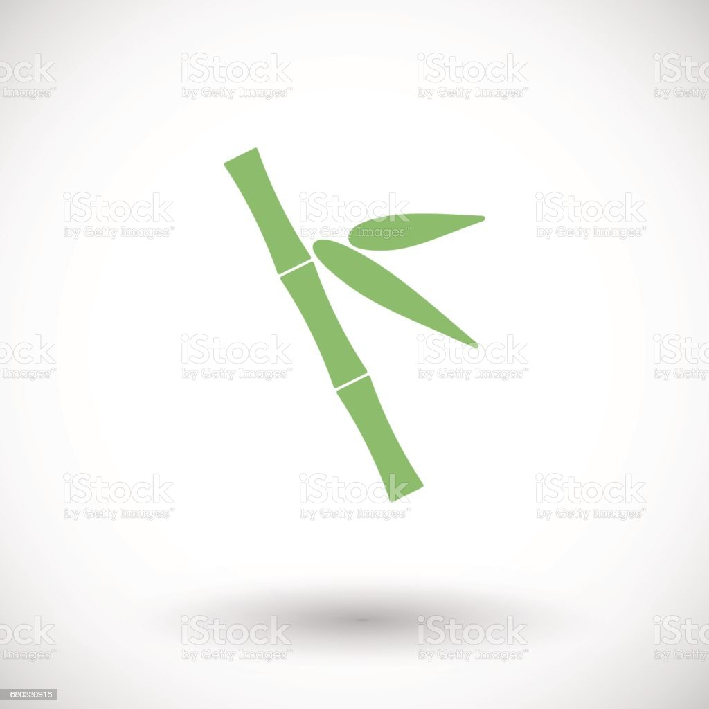 Bamboo vector icon royalty-free bamboo vector icon stock vector art & more images of arts culture and entertainment