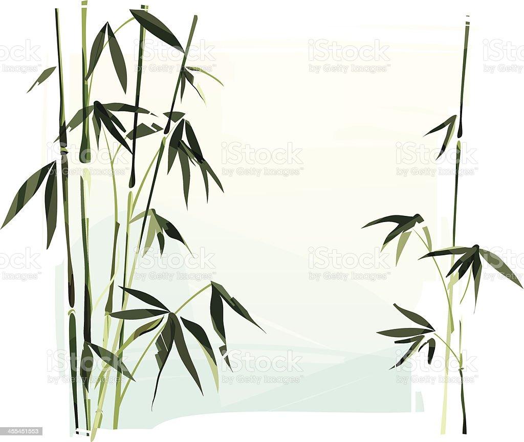 Bambus Stock Vektor Art Und Mehr Bilder Von Aquarell 455451553 Istock