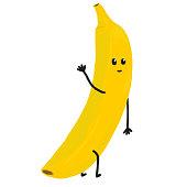 istock Banana Character 1138515620
