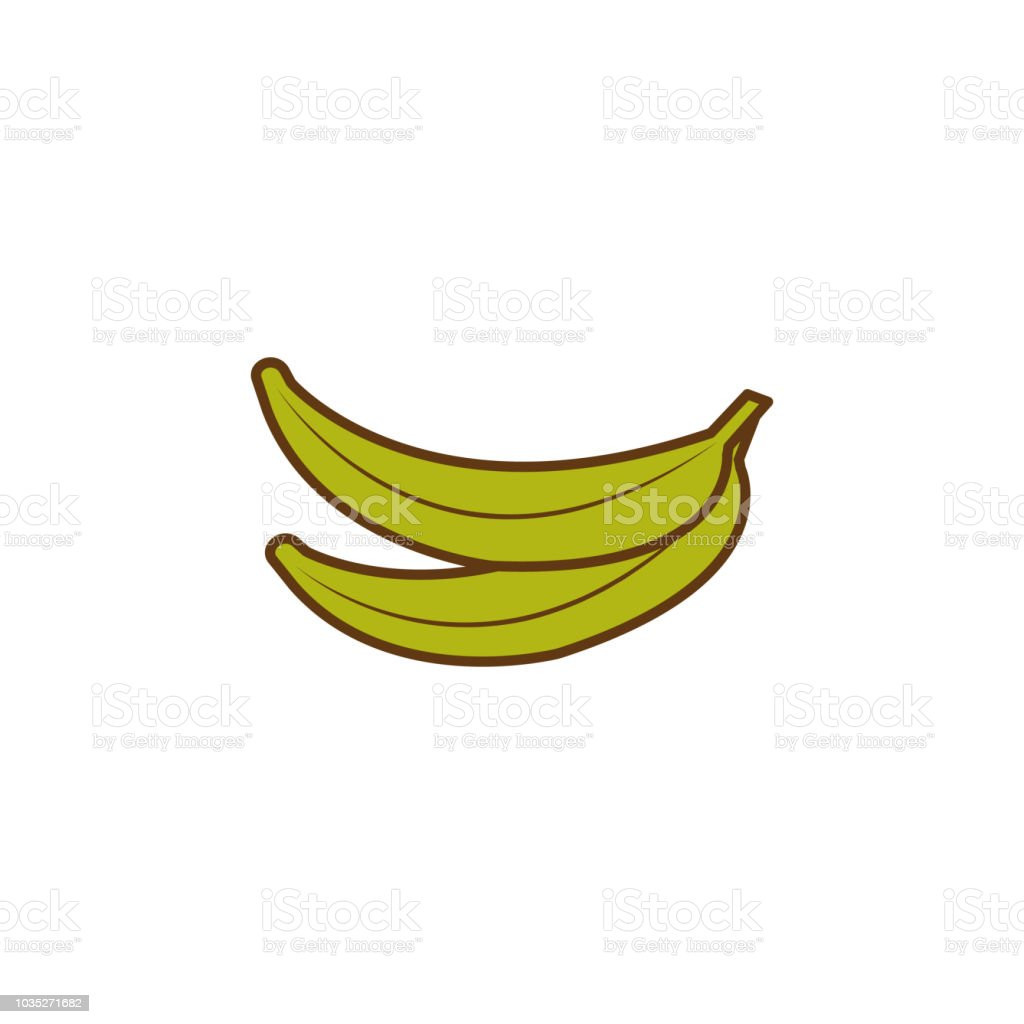 Banana Colored Icon Element Of Fruits And Vegetables Icon For Mobile Concept And Web Apps Colored Banana Icon Can Be Used For Web And Mobile Premium Icon Stock Illustration Download Image