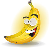 Banana Fruit Character