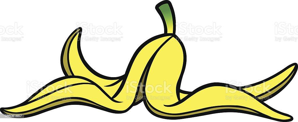 royalty free banana peel clip art vector images illustrations rh istockphoto com