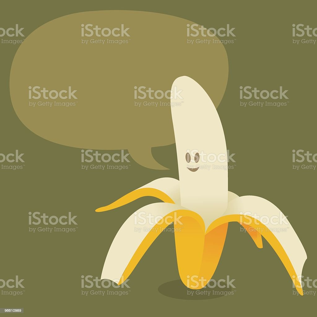 Banana - Royalty-free Banana stock vector