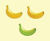 Banana Vector Illustrations