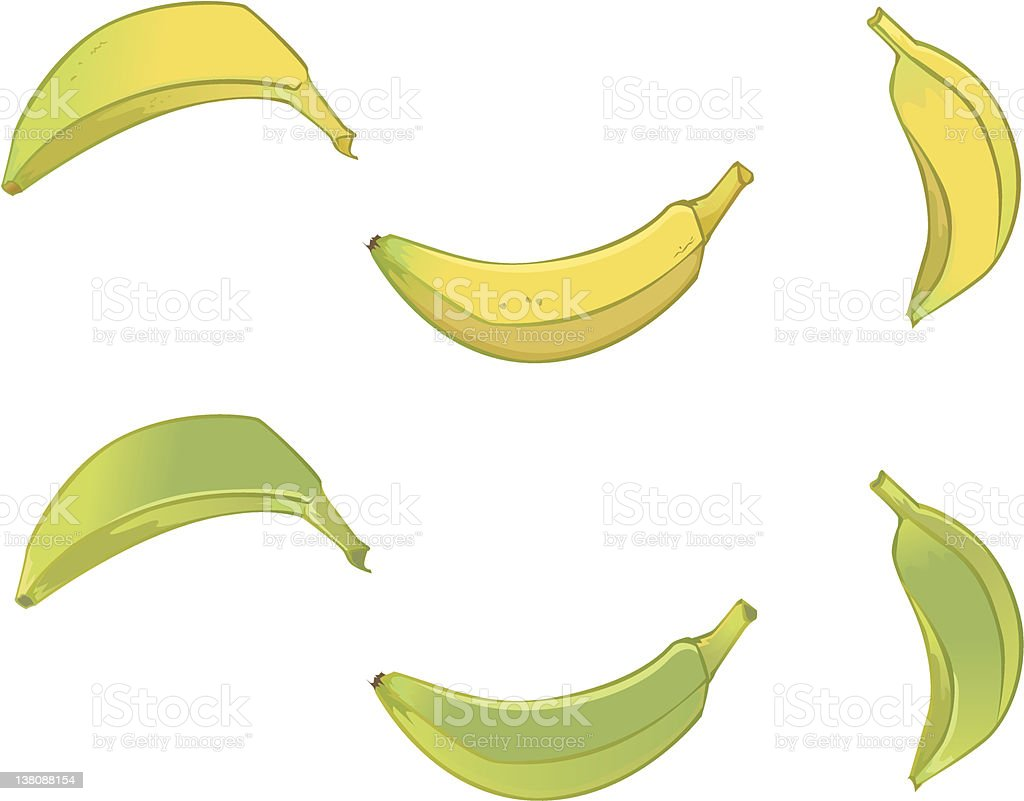 bananas royalty-free stock vector art