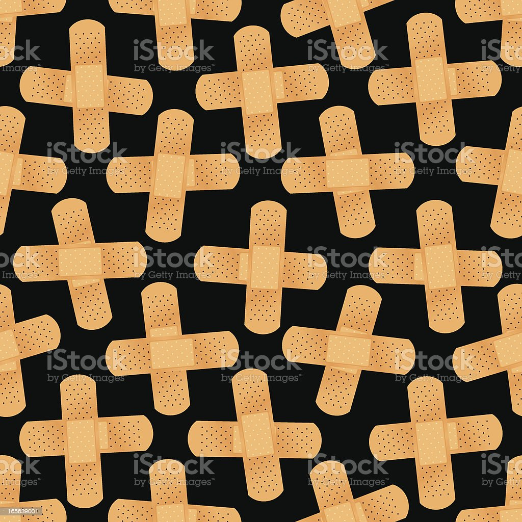 Bandage Cross Pattern royalty-free bandage cross pattern stock vector art & more images of adhesive bandage