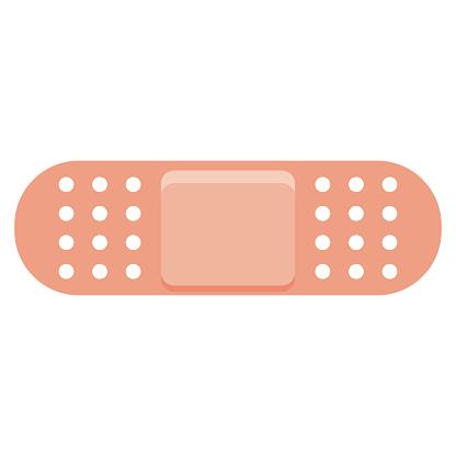 Bandage Icon on Transparent Background