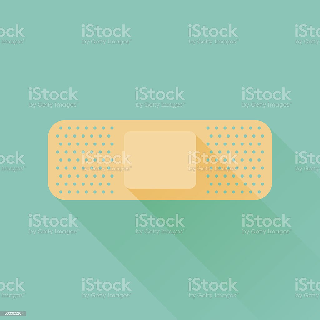 Bandage vector art illustration