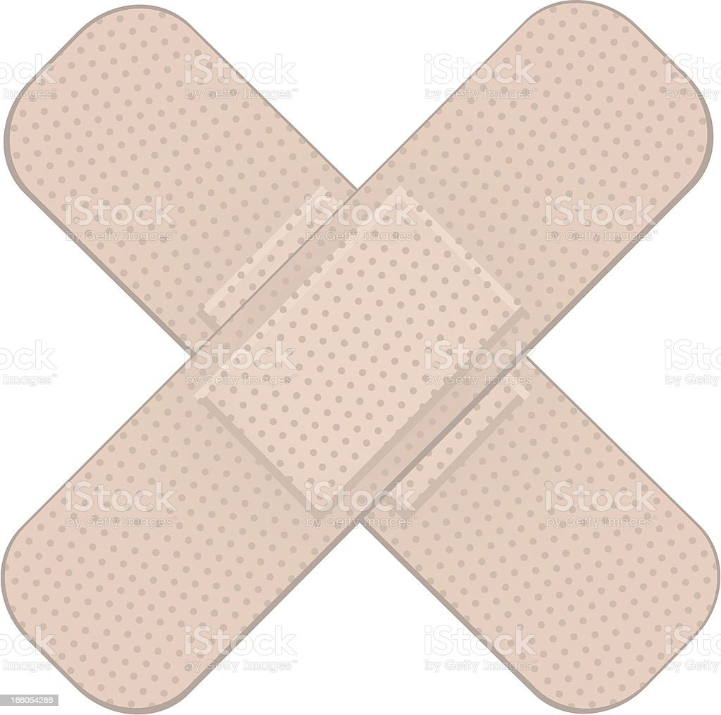 Bandages royalty-free stock vector art