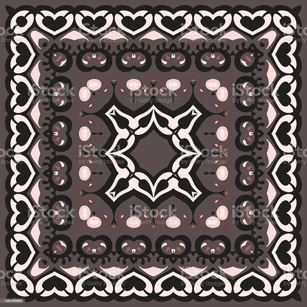Bandana Pattern. royalty-free stock vector art