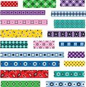 bandana washi patterns