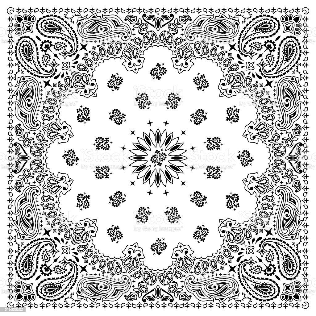 Bandana White royalty-free bandana white stock vector art & more images of backgrounds